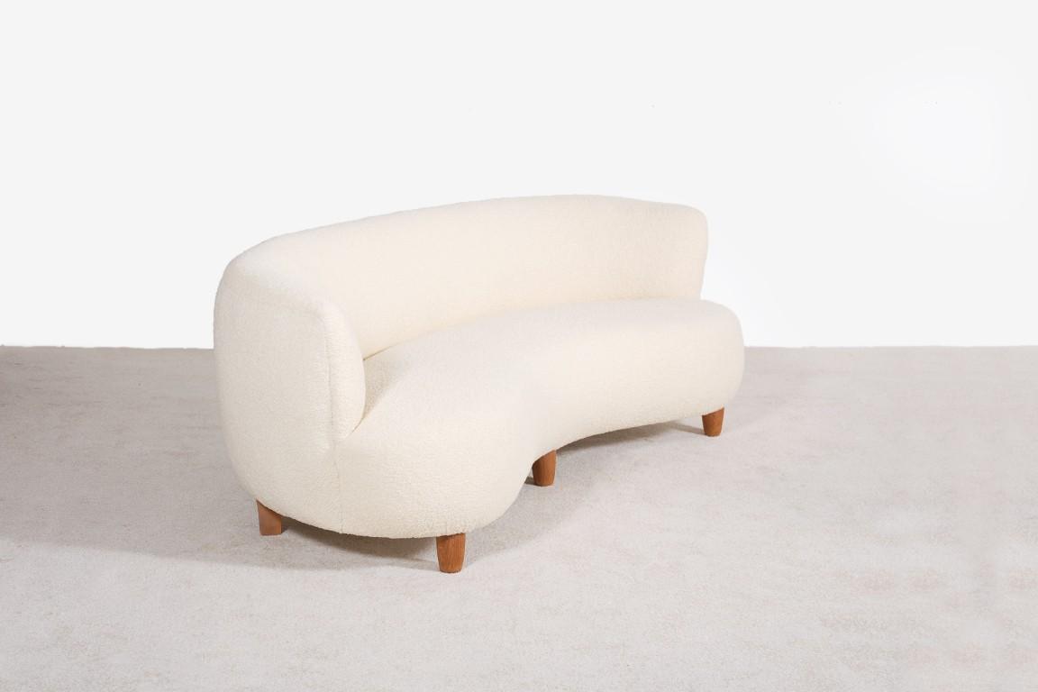otto schultz sweden curved sofa for boet jasper vintage curv